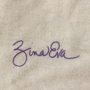 Zina Eva Bags - Patent leather clutch/purse w shoulder strap NWT